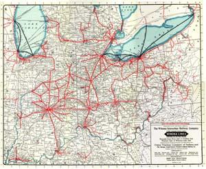 IndianaOhio Interurban Map