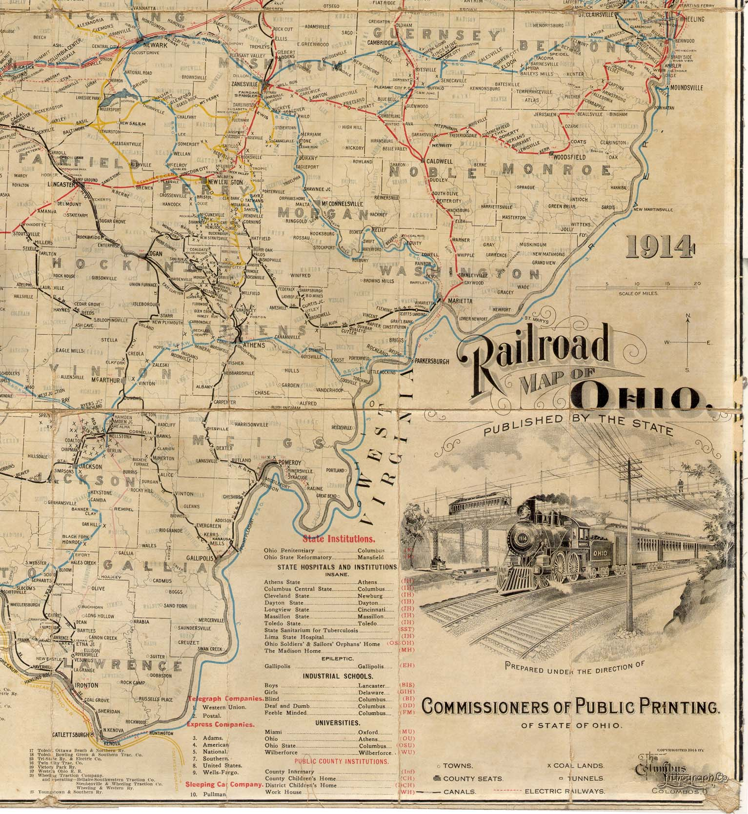 Related Keywords Amp Suggestions For Old Railroad Maps Ohio