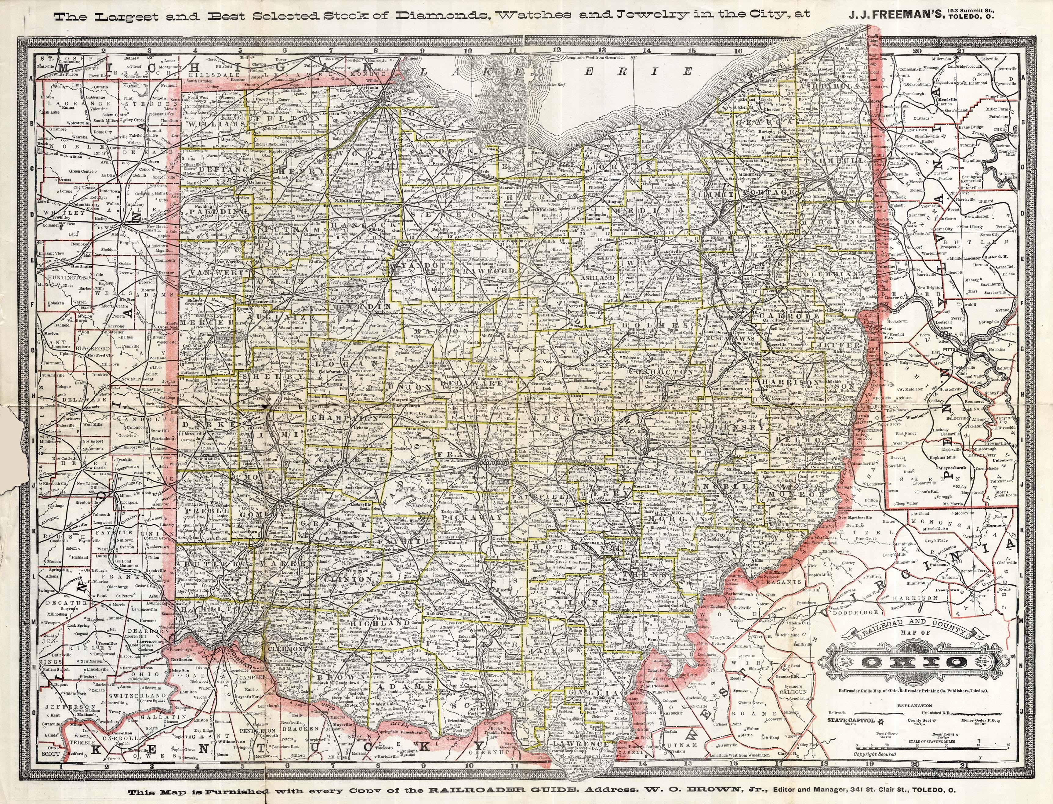 Ohio Railroader Guide